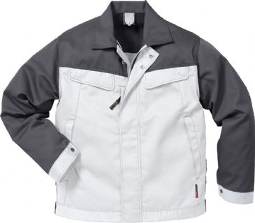 Fristads Icon Jacket 4857 Luxe 109321 (White/Grey)